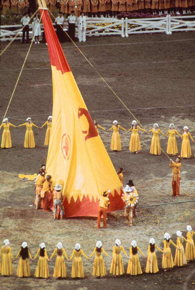 Montreal 1976 OG, Closing ceremony - The show.
