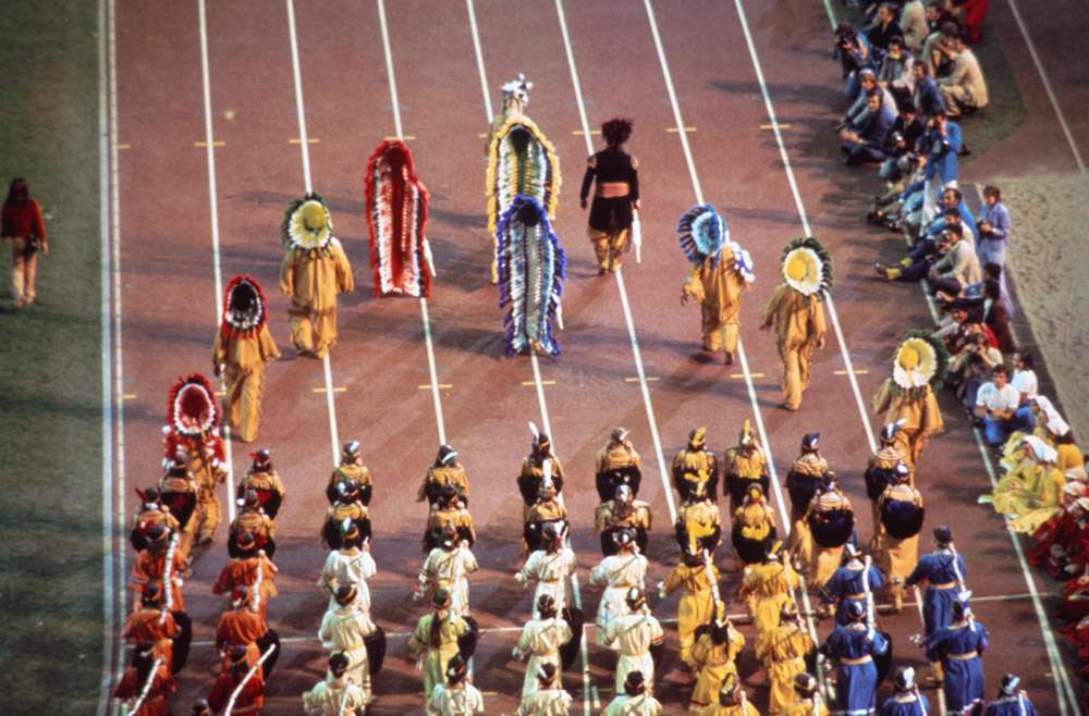 Montreal 1976 OG, Closing ceremony - The show.