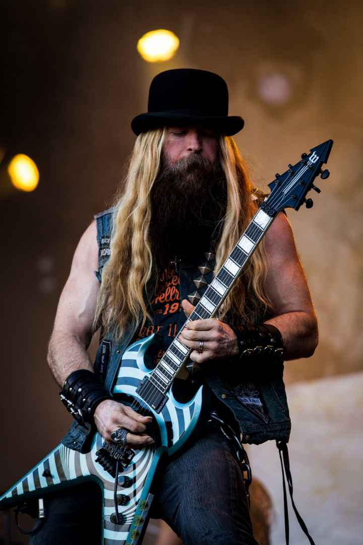 MONTREAL, QUE.: August 7, 2016-- Zakk Wylde performs during the second day of the 2016 Heavy Montreal festival at Parc Jean Drapeau on Sunday August 7, 2016.  (Tim Snow / EVENKO MANDATORY CREDIT)
