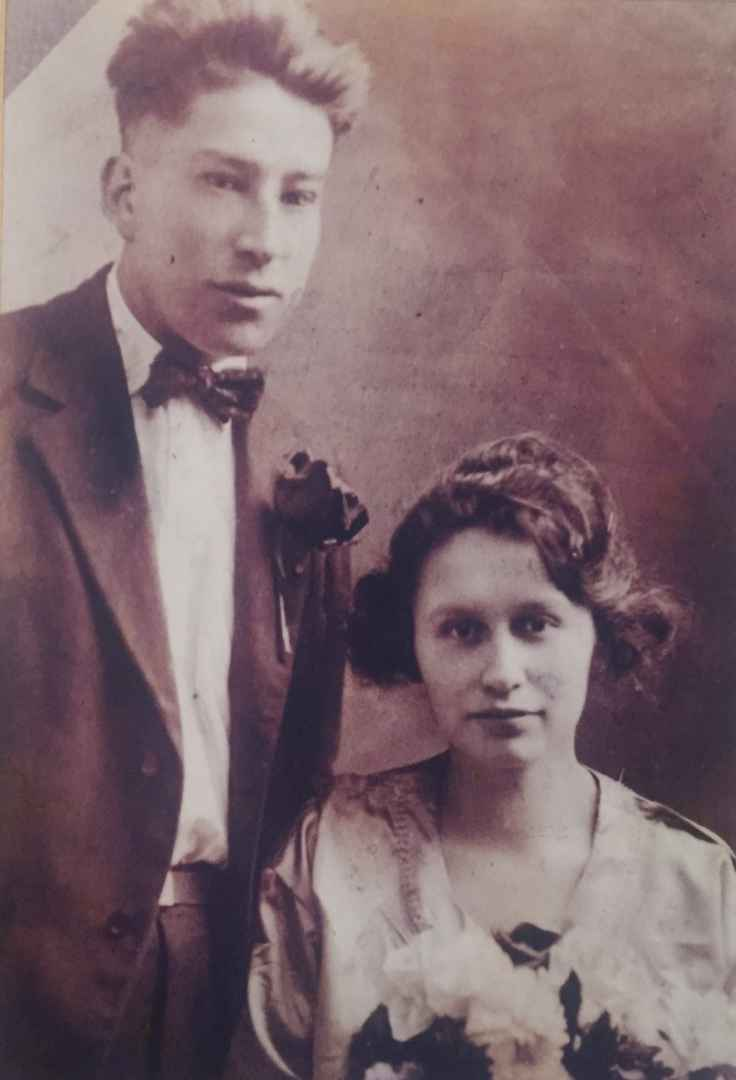 Louie and Mary Jane Montour faced tragedy in the midst of trying to raise the couple's growing family, and Mary was left with few options, little money, and a genocidal policy that left never-healed scars for nearly a century. (Courtesy Tessie Montour)