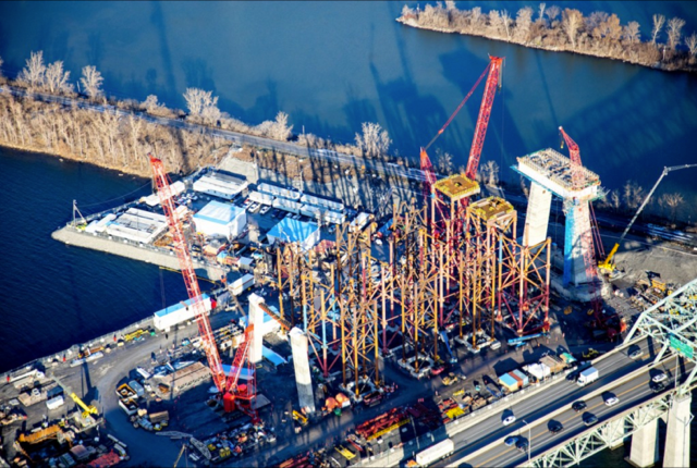 The construction on the new Champlain Bridge ramps up this year (Courtesy: Infrastructure Canada)