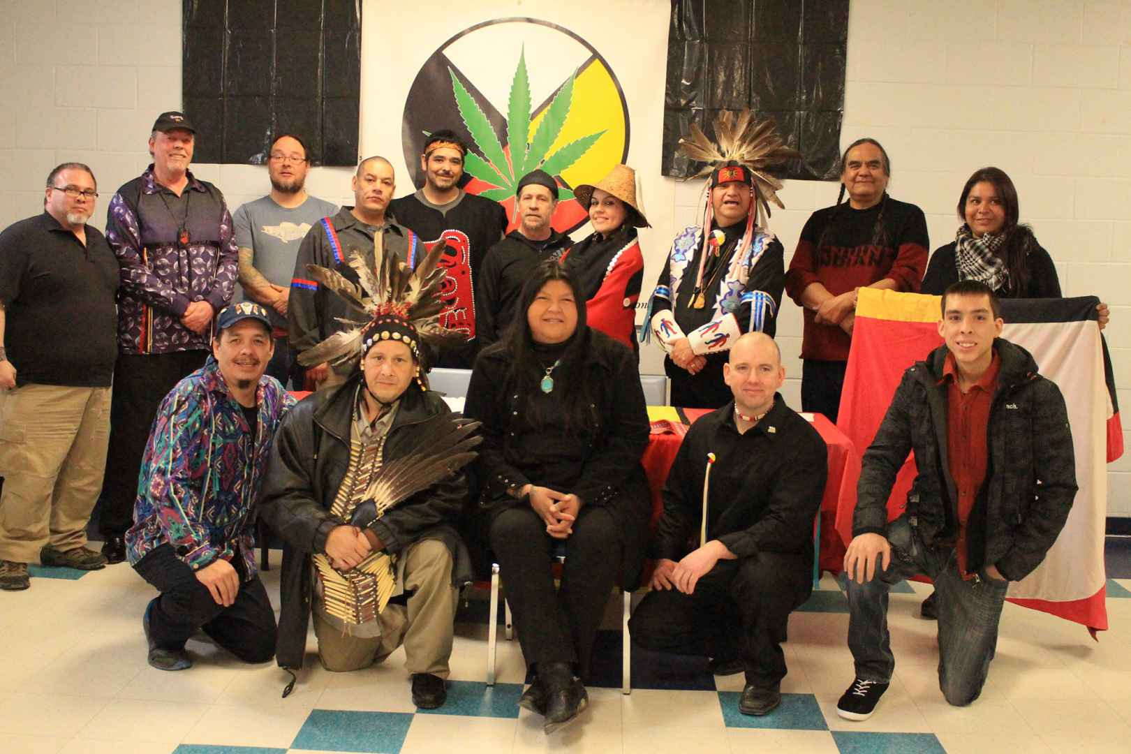 A number of Kanien'kehá:ka representatives, including Kanehsata'kehró:non Clifton Nicholas, were elected to the inaugural board of the National Indigenous Medical Cannabis Association. (Courtesy Clifton Nicholas)