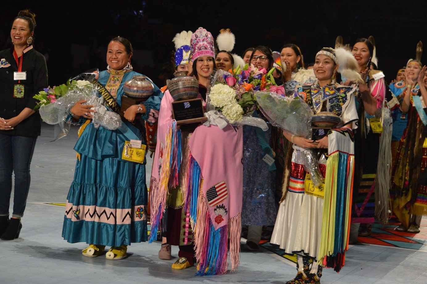 Raven Swamp was among 24 Indigenous young women competing for Miss Indian World 2017. (Courtesy Michelle Johnson)