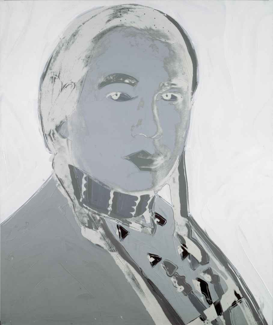 Andy Warhol (1928-1987), The American Indian (Russell Means), 1976, synthetic polymer paint and silkscreen on canvas. Denver Art Museum, Charles Francis Hendrie Memorial Collection by exchange. © The Andy Warhol Foundation for the Visual Arts Inc. /SODRAC (2017).' (Courtesy MMFA)