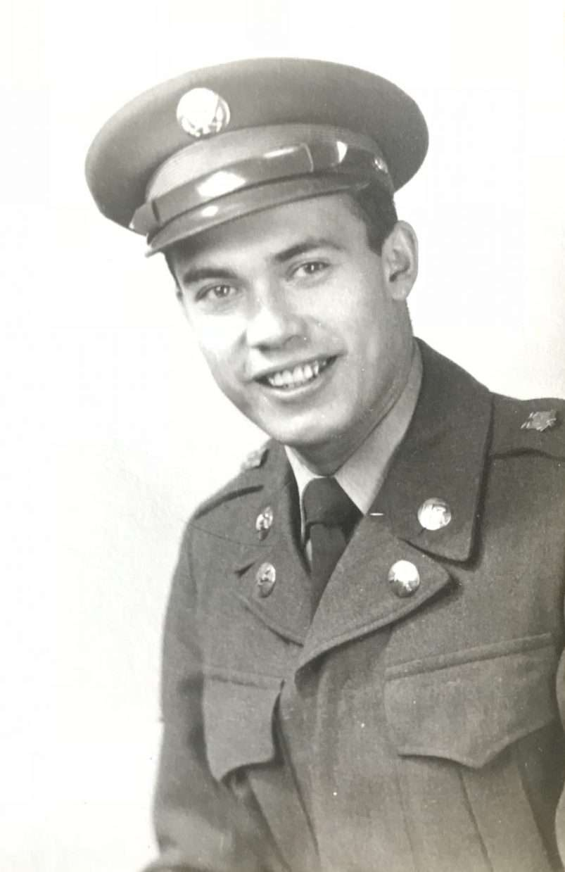 Robert Montour Sr. served for two years on the Korean Peninsula, and recalled his days of artillery fire, cooking, driving captains around and missing out on seeing Marilyn Monroe. Courtesy Robert Montour Sr. )