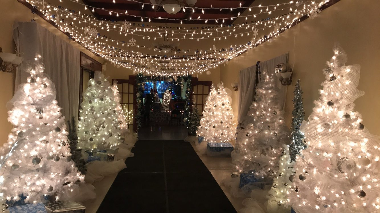Enter and feel the holiday cheer, as the Kateri Memorial Foundation has upped its game yet again at this year's Winter Wonderland. (Jessica Deer, The Eastern Door)